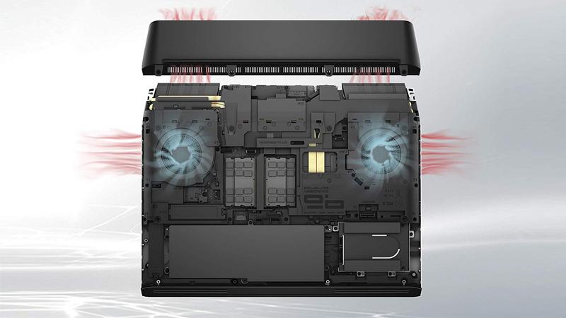 Alienware sistema de enfriamiento