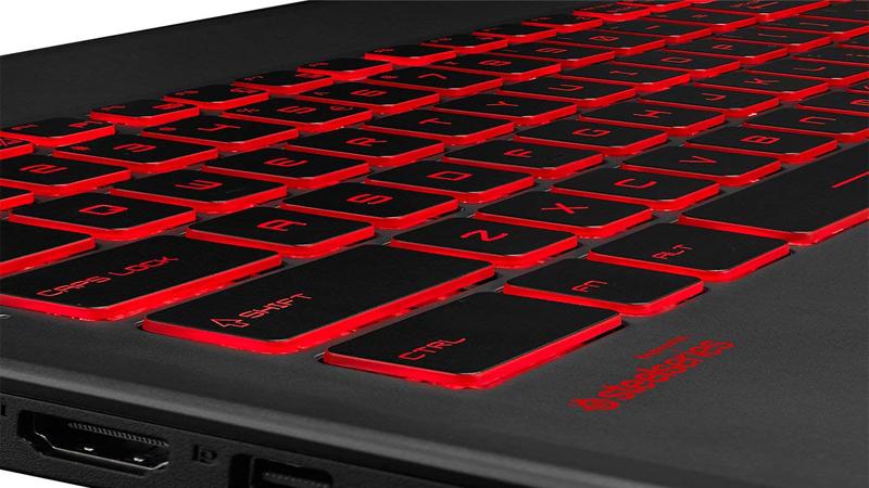 MSI GV62 8RC-012XES teclado led rojo