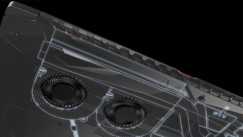 Sistema de enfriamiento Acer Nitro 5