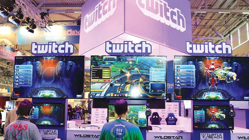 Twitch streamer