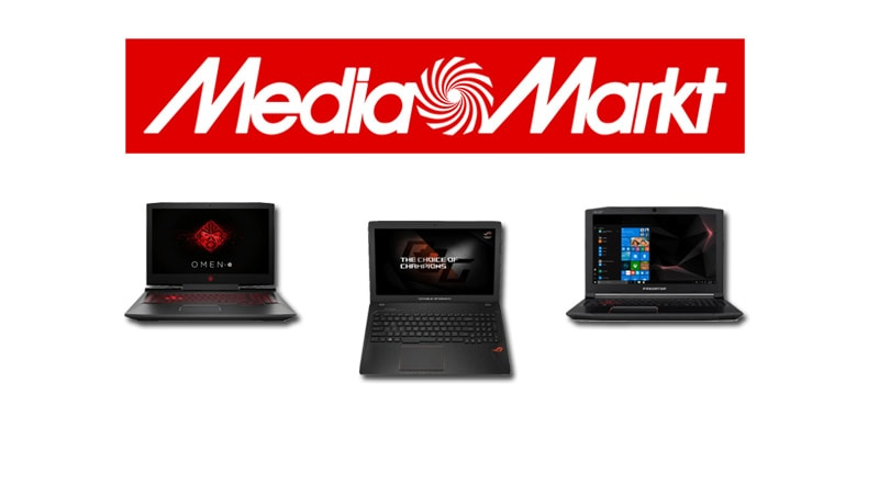 mejores portátiles gaming Media Markt