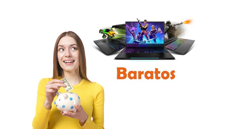 portátiles gaming baratos
