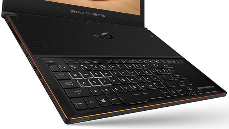 teclado especial Asus ROG ZEPHYRUS GX501