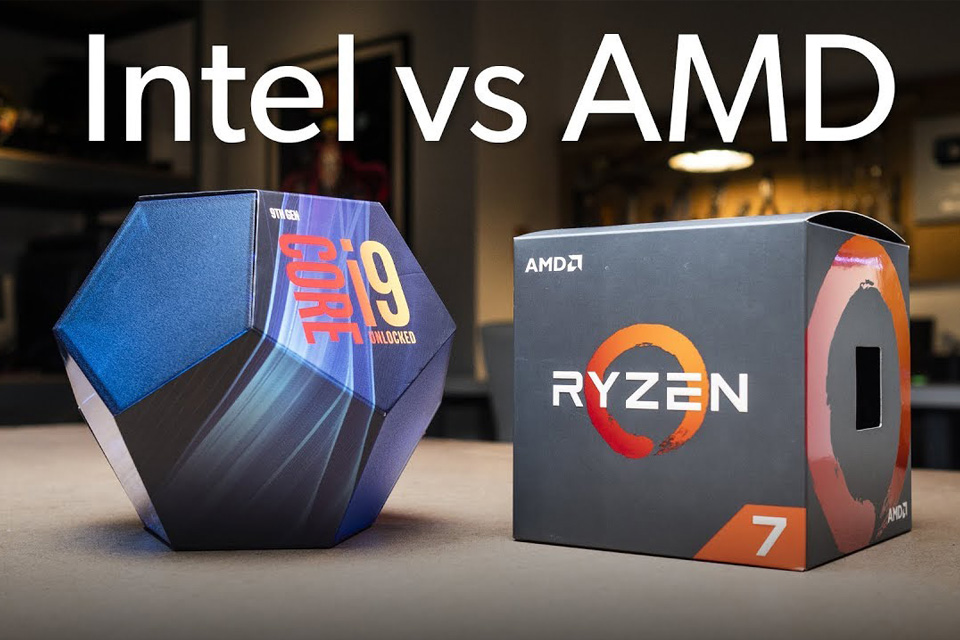 Intel y AMD principales fabricantes de procesadores